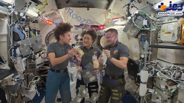 غذای متفاوت فضانوردان برای روز شکرگزاری +عکس