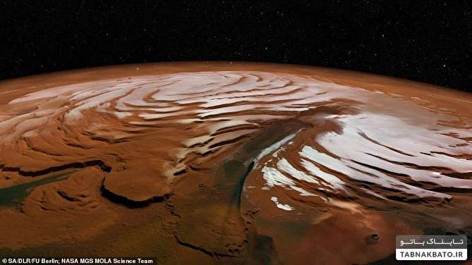 کشف یخ زیر سطح مریخ