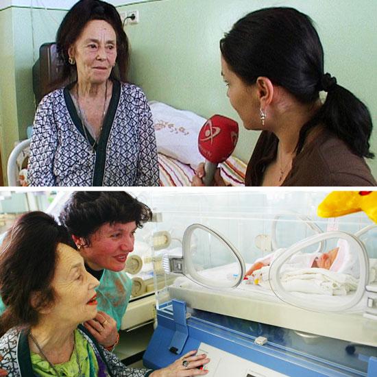 ماجرای زنی که در ۶۶ سالگی برای اولین بار مادر شد!