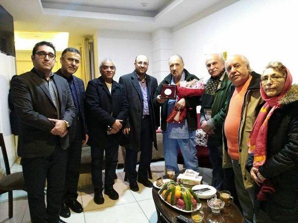 عیادت بازیگران ایرانی از بازیگر فرانسوی +عکس