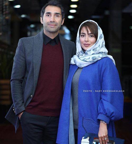 تیپ پاییزی سمانه پاکدل و همسرش هادی کاظمی+عکس