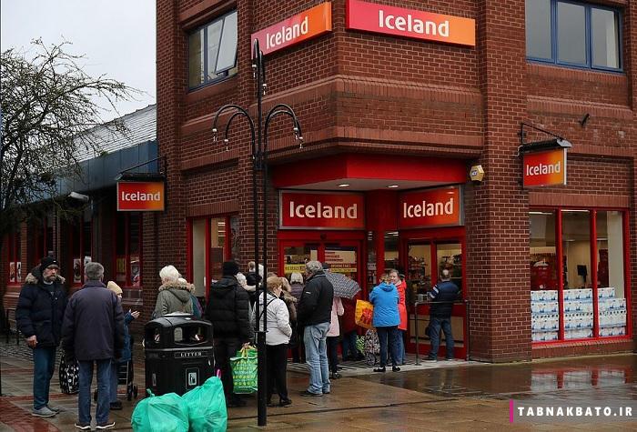 جنون کرونا در انگلستان، فروشگاهها را خالی کرد