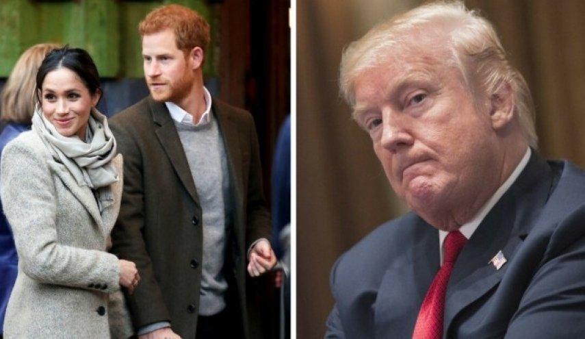 پاسخ تند شاهزاده هری و مگان به اظهارات ترامپ