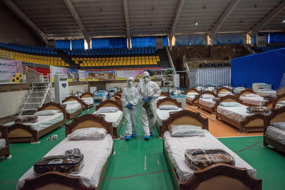 بیمارستانهای صحرایی دور دنیا برای مبارزه با کرونا