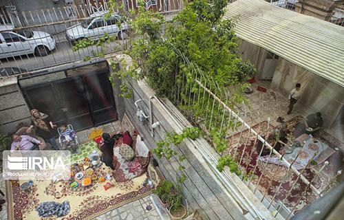 فاصلهگذاری اجتماعی و سیزدهبدر در یک قاب