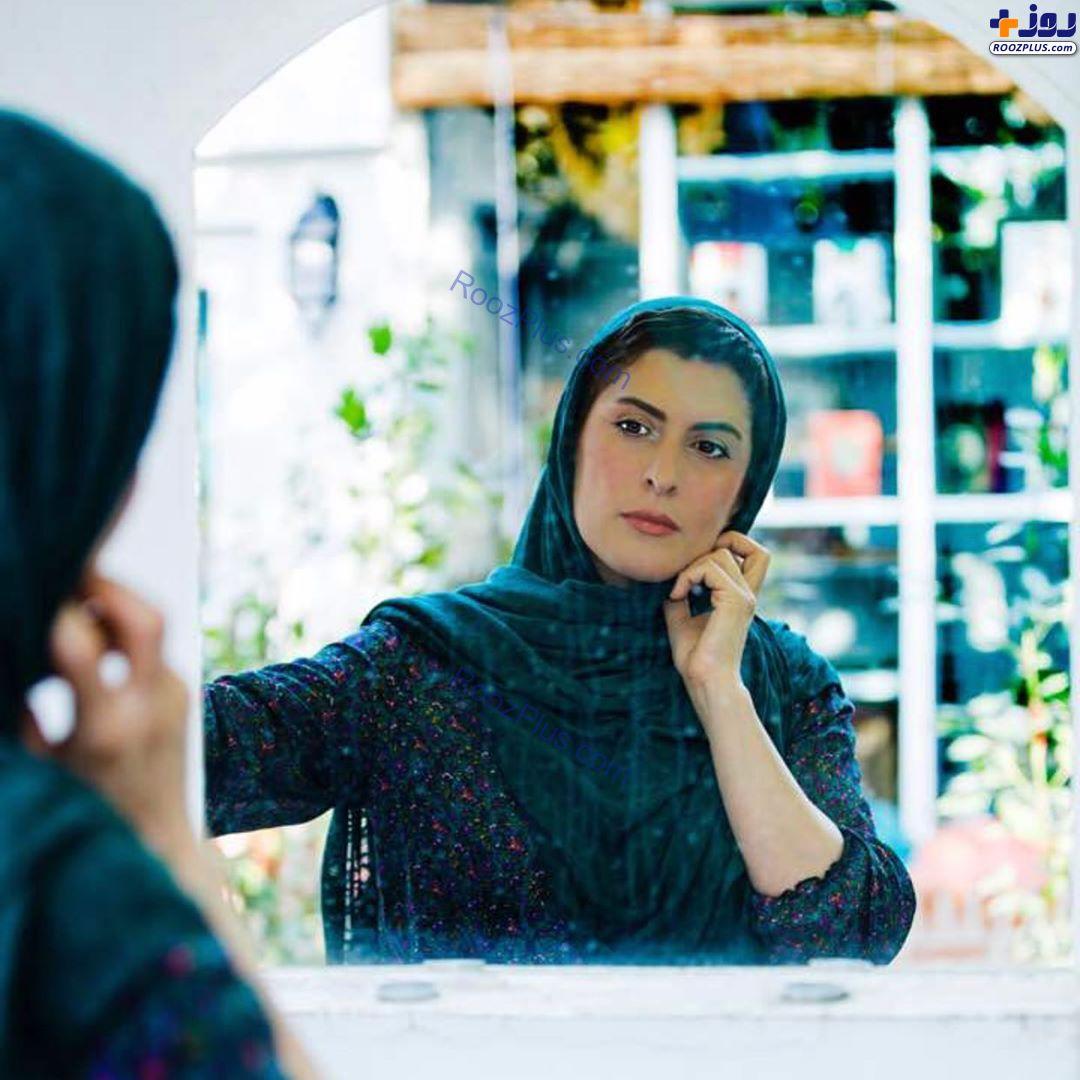 سیزده به در خانم بازیگر در خانه+عکس