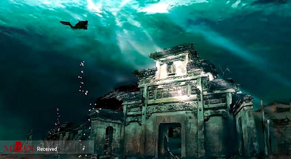 شهرهای غرق شده در آبها + عکس