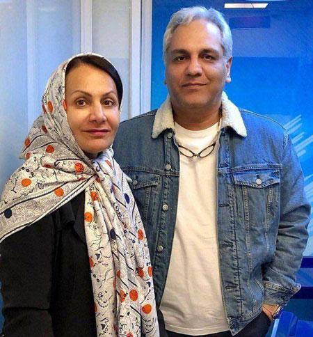 تصویری از مهران مدیری در کنار همسرش