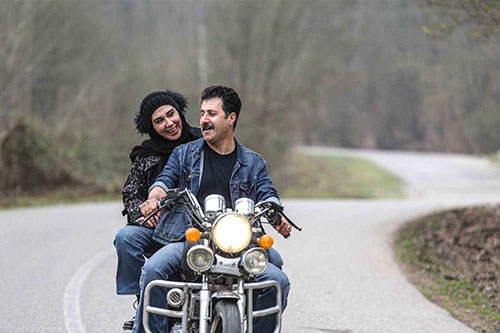 رحمت و همسرش به سبک فیلم همسفر+عکس