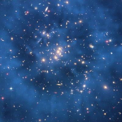 حلقه ماده تاریک در دست فضا+عکس