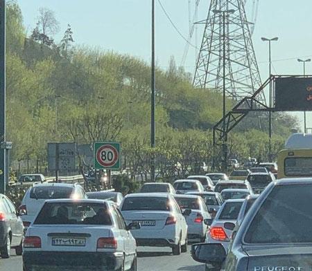 از امروز در تهران، به جای خانه، در ترافیک بمانید!