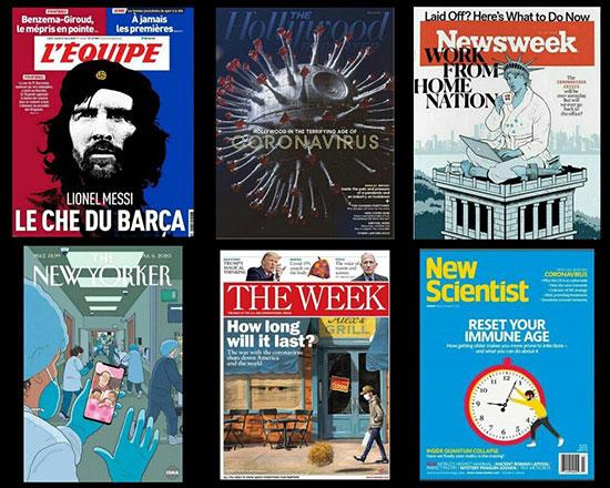 معتبرترین مجلات دنیا هم به کرونا مبتلا شدند+عکس