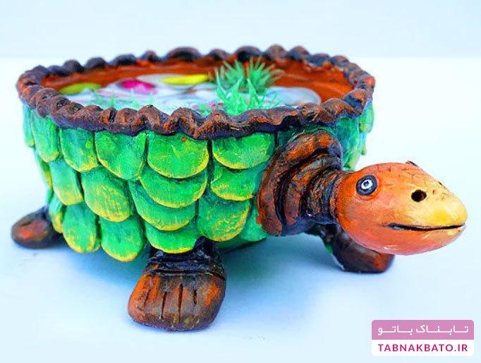 چگونه یک حوضچهی کوچک لاکپشتی بسازیم؟