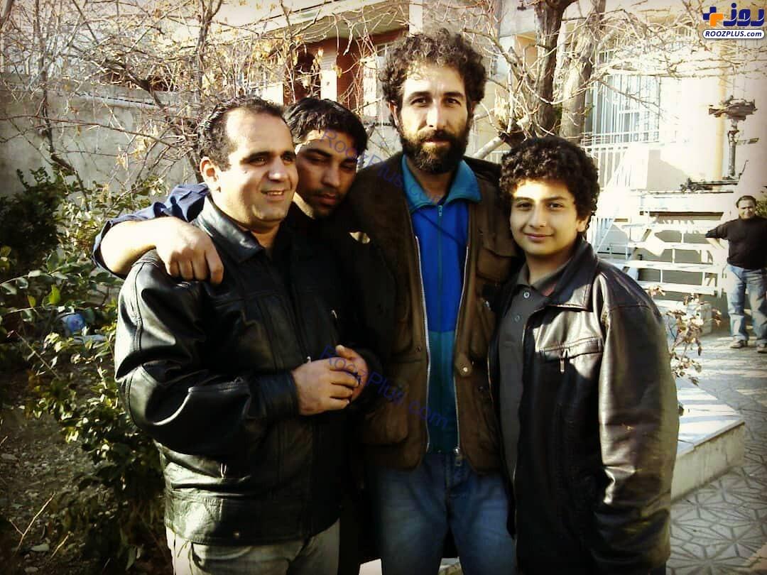 حسین رفیعی چهارده سال پیش +عکس