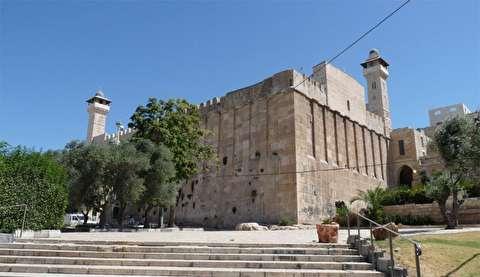 باز شدن درب مسجد حضرت ابراهیم برای اولین بار