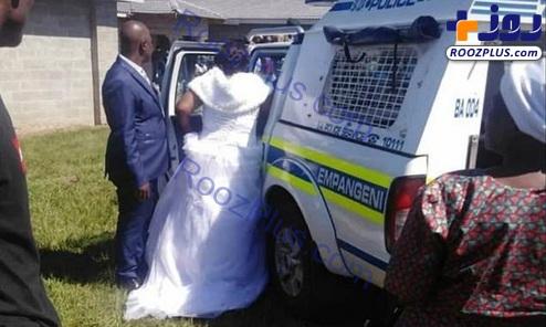 بازداشت عروس و داماد در روز عروسی+عکس
