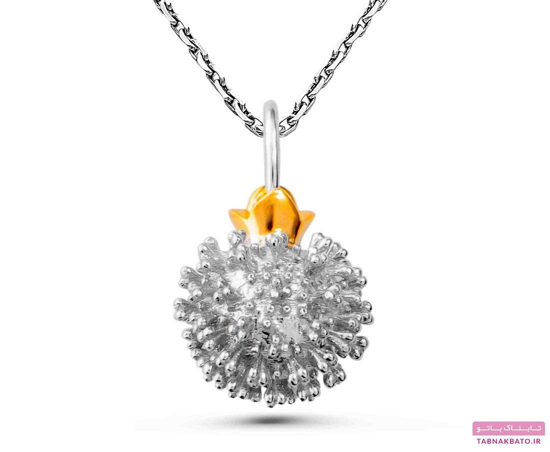 ساخت جواهرات شبیه کرونا ویروس جدید