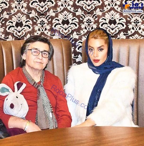 رضا رویگری در کنار همسرش +عکس