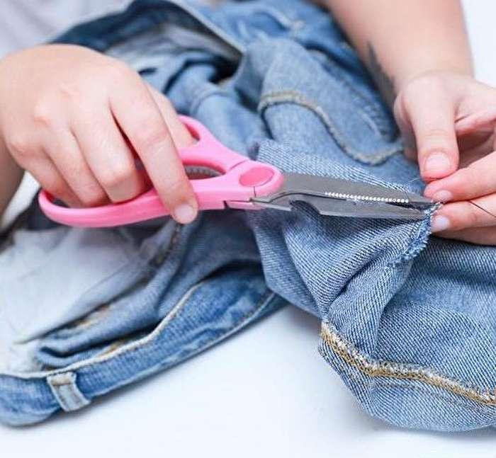 ترمیم لباس جین با روشی جذاب
