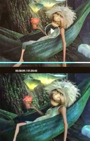 در یک انیمیشن پای مادربزرگ را سانسور کردند