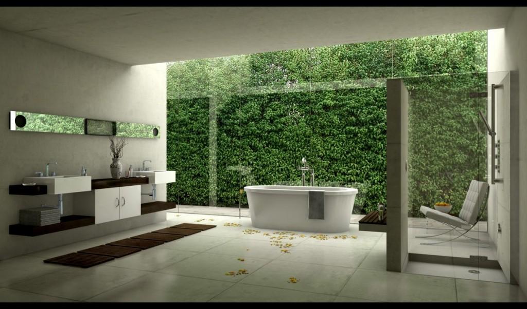 تصاویر دکوراسیون حمام های لوکس و مدرن با طراحی های فوق العاده