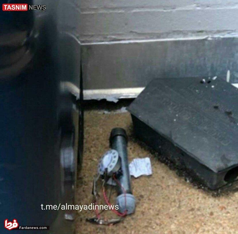 کشف بمب در کنگره آمریکا +عکس