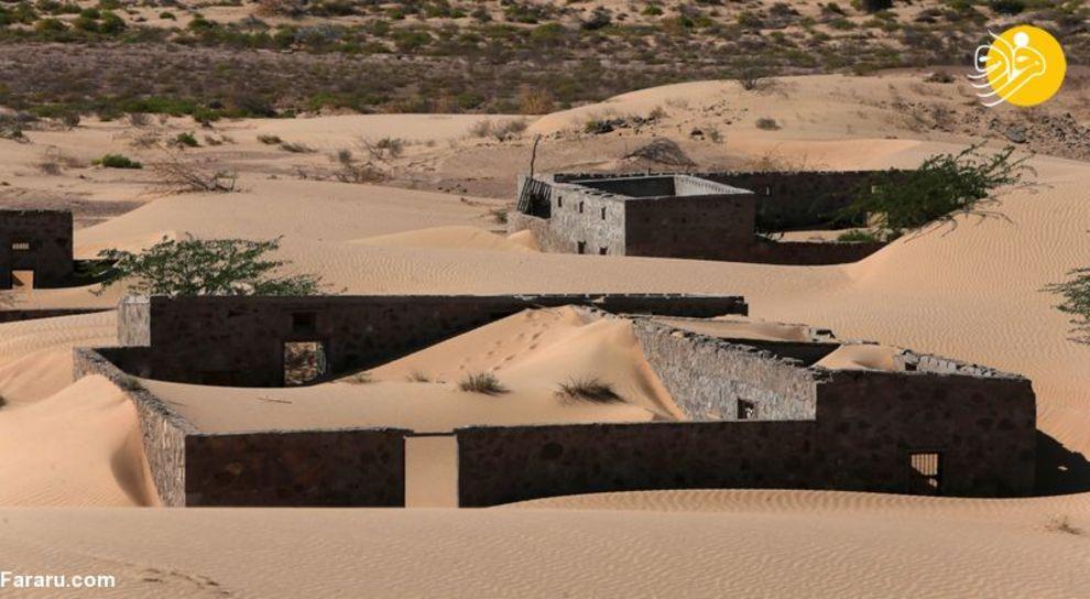 روستایی که کویر آن را بلعید + عکس