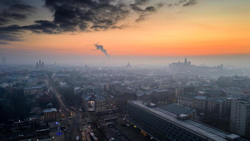 آلودگی هوا در لهستان + عکس