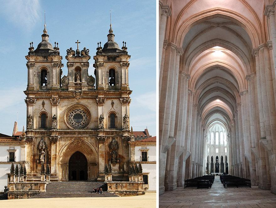 معماری جالب این صومعه پرتغالی با درهای ضدشکمپرستی راهبان!