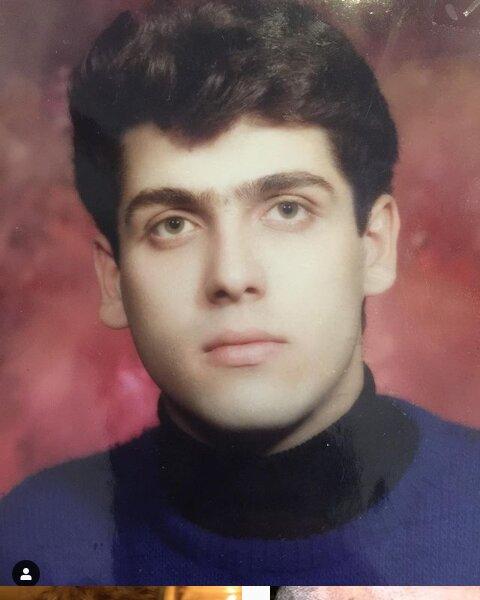 عکس قدیمی و دیده نشده آقای بازیگر در جوانی