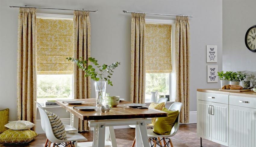 پرده آشپزخانه فقط پوشش پنجره نیست!