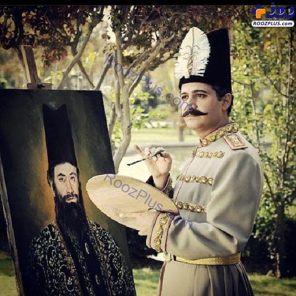بازیگر معروف در نقش ناصرالدین شاه + عکس