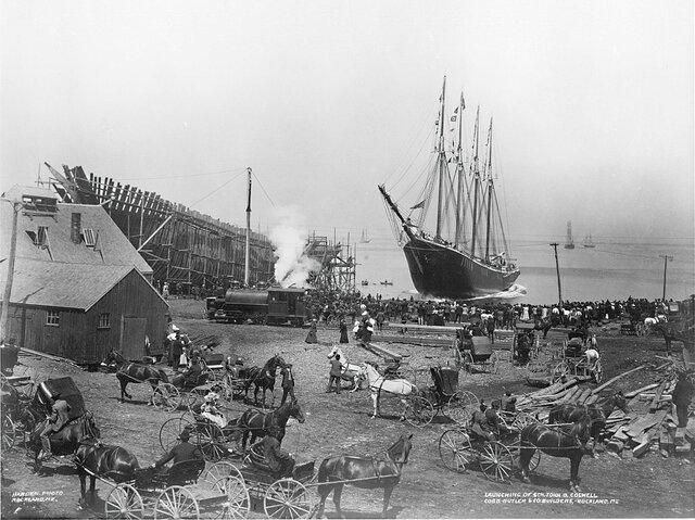 عکس تاریخی از یک کشتی که ناگهان گم شد