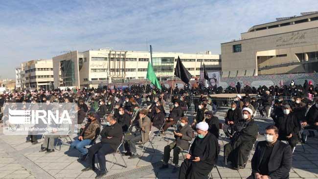 اجتماع عزاداران فاطمی در مشهد برگزار شد