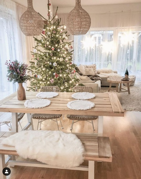 طرحهای دوست داشتنی برای تزیین درخت کریسمس و طراحی مینیمال