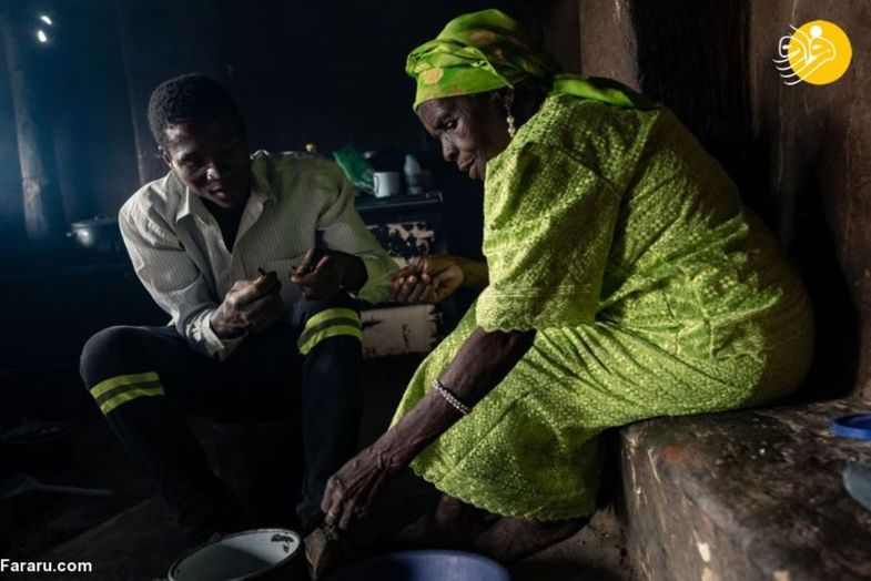 غذای مورد علاقه اهالی روستای زیمباوه +عکس