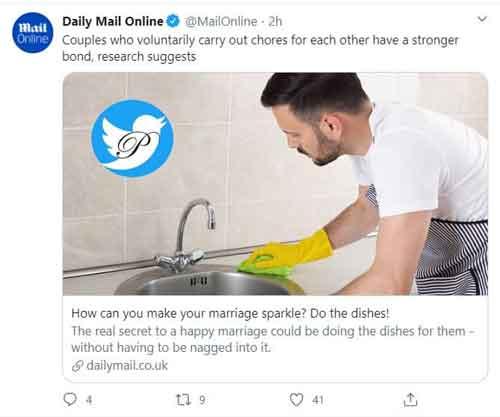 راز خوشبختی در ازدواج، شستن ظرفهاست!