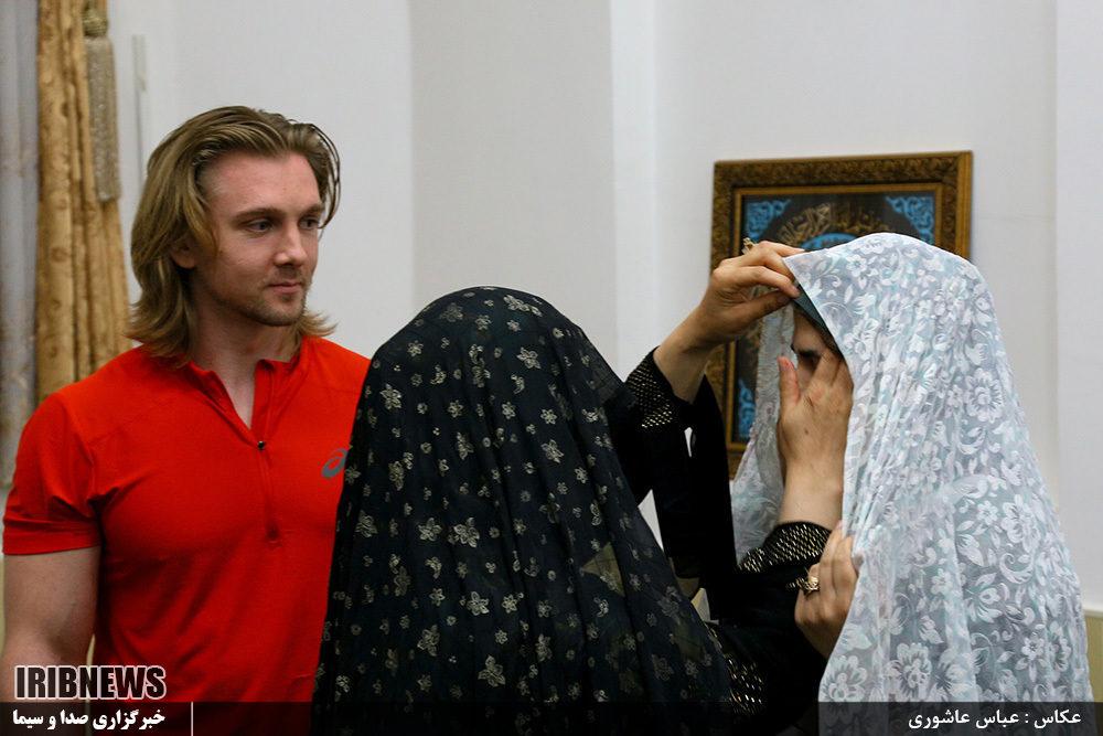 مرد روسی که عاشق دختر گیلانی شد+ عکس