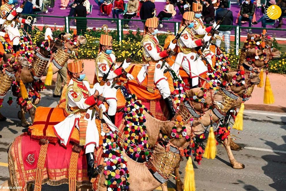 جشن هفتاد و دومین سالگرد روز جمهوری هند
