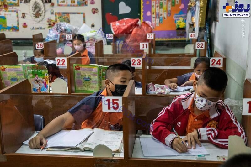 تقلب دانش آموزان در دوران کرونا+عکس