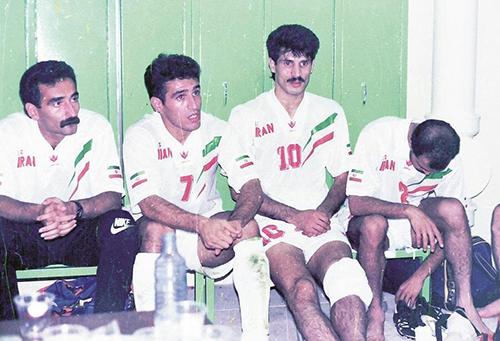 منصوریان و دایی؛ ۲۵ سال قبل