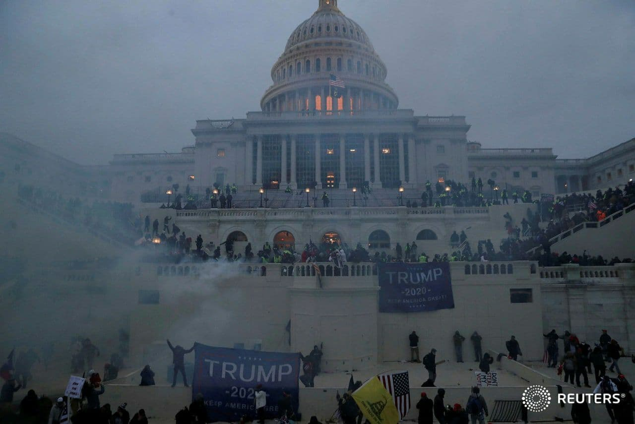 دو تصویر متفاوت از کنگره آمریکا به فاصله چند روز