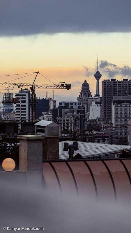 با این عکسِ تهران کِیف کنید