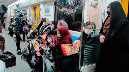 خواهرا، برادرا، من دستفروشم از متروی تهران
