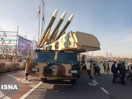 نمایش سامانه سوم خرداد در میدان آزادی