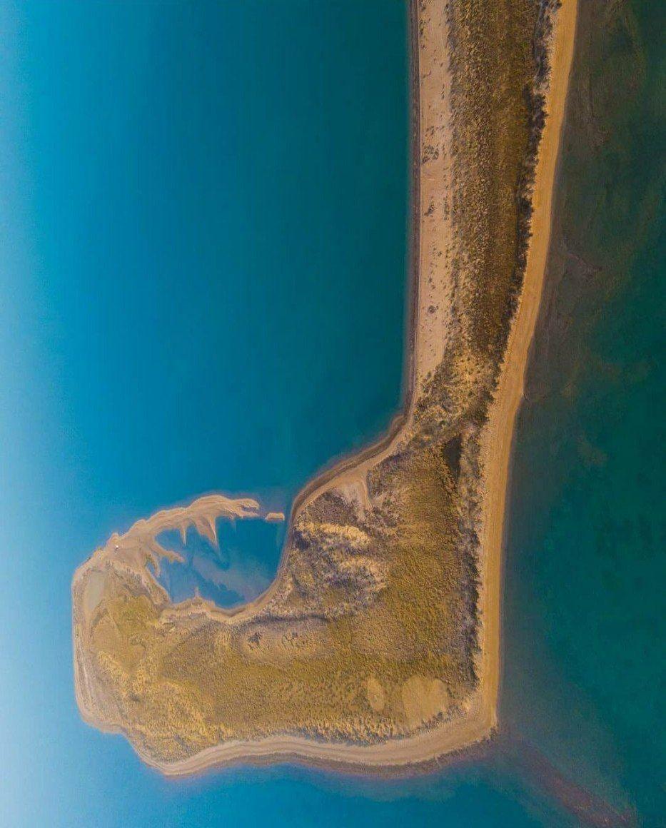 جزیره «امالگُرم» در خلیج فارس + عکس
