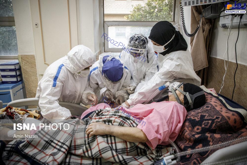 بیمارستان گنجویان دزفول در وضعیت قرمز+عکس