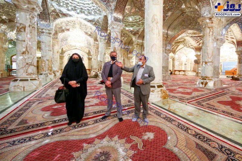 سفیر هلند در حرم امام علی(ع) + عکس