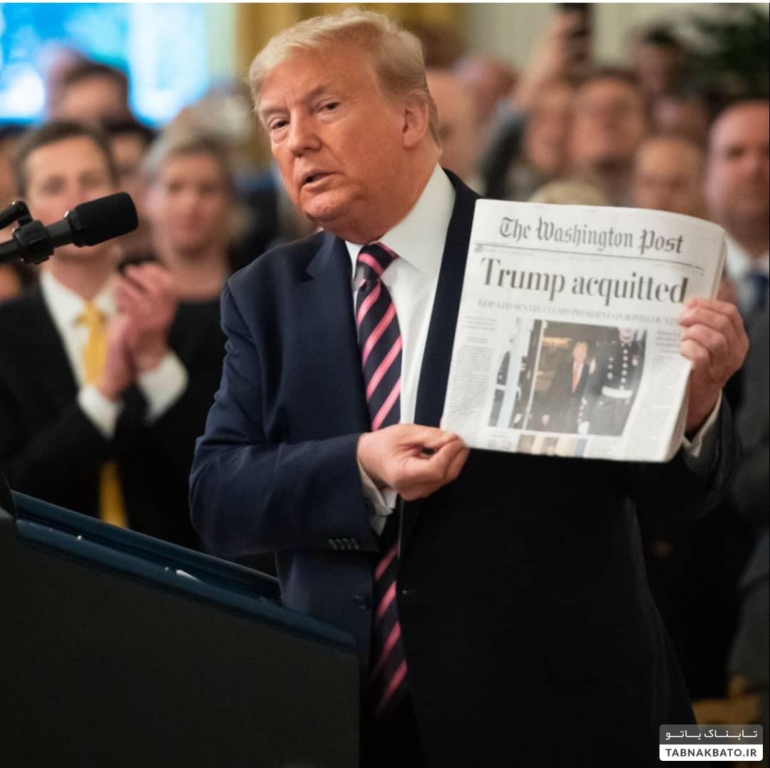 دونالد ترامپ سرمست از پیروزی در استیضاح کنگره ، در دام دادستانی نیویورک افتاد