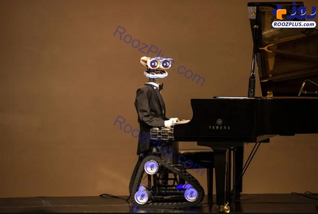 روباتی که پیانو می نوازد+عکس